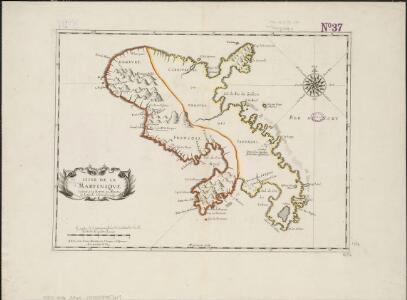 L'isle de la Martinique, scituée a 14 degrez 30 minutes de latitude septentrionale