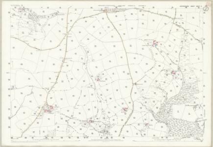 Devon XXXIV.8 (includes: Huntsham; Tiverton) - 25 Inch Map