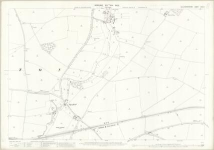 Gloucestershire XXVII.11 (includes: Sevenhampton; Shipton; Whittington) - 25 Inch Map