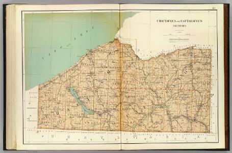 Chautauqua, Cattaraugus counties.