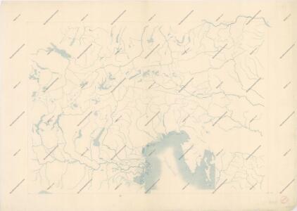 Bez titulu: Slepá hydrografická mapa jihovýchodní Evropy