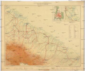 Overzichtskaart van Een Gedeelte van Het Gouverement Oostkust van Sumatra