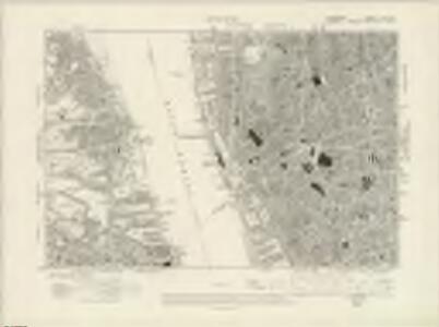Lancashire CVI.SW - OS Six-Inch Map