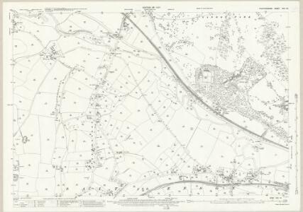 Staffordshire XXX.16 (includes: Marston; Salt And Enson; Sandon) - 25 Inch Map