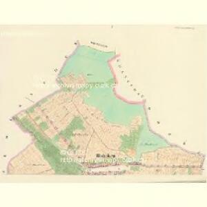 Hluboken (Hluboky) - c1888-1-001 - Kaiserpflichtexemplar der Landkarten des stabilen Katasters