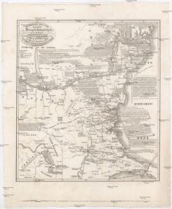 Geographisch-historische Karte des Kriegsschauplatzes in Europa in den Jahren 1828 u. 1829