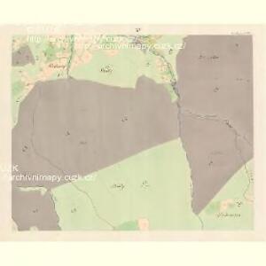 Gross Bistrzitz (Welky Bistrzice) - m3258-1-013 - Kaiserpflichtexemplar der Landkarten des stabilen Katasters