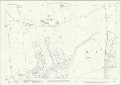 Berkshire VIII.3 (includes: Buckland; Great Faringdon) - 25 Inch Map