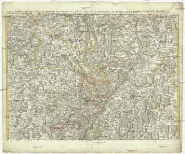 Cursus Rheni a Basilea usque ad Bonnam, III. sect. exhibitus