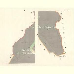 Prussinowitz (Rassosow) - m2558-1-002 - Kaiserpflichtexemplar der Landkarten des stabilen Katasters