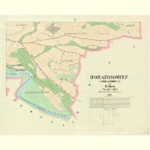 Horaždiowitz (Horaždiowice) - c1994-1-008 - Kaiserpflichtexemplar der Landkarten des stabilen Katasters