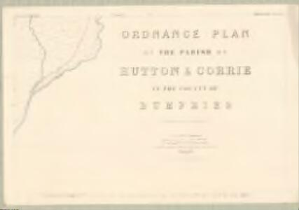 Dumfries, Sheet XLIV.6 (Hutton and Corrie) - OS 25 Inch map