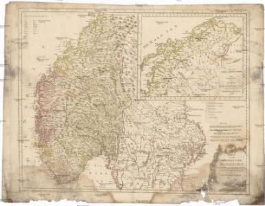 Karte von dem Königreiche Norwegen
