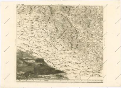 Mappa geographica regni Bohemiae in duodecim circuloc divisae ... Sectio. XXII.