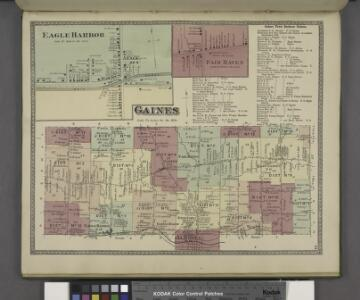 Gaines Town of Business Notices. ; Fair Haven [Village]; Gaines [Township]; Eagle Harbor [Village]