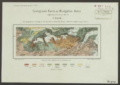 Geologische Karte der Windgällen-Kette