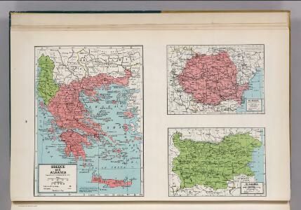 Greece and Albania.  Rumania.  Bulgaria.