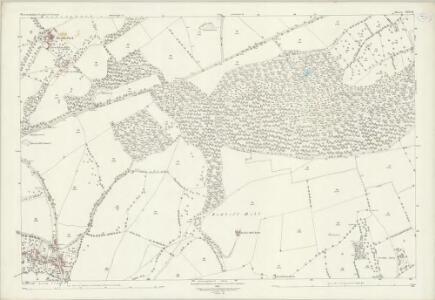Warwickshire LVII.10 (includes: Cherington; Long Compton; Stourton; Whichford) - 25 Inch Map