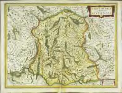 Carte dv païs et Duchè de Nivernois