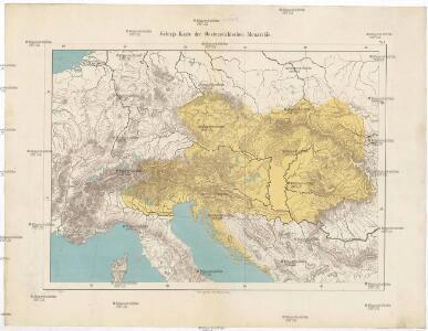 Gebirgs-Karte der Oesterreichischen Monarchie
