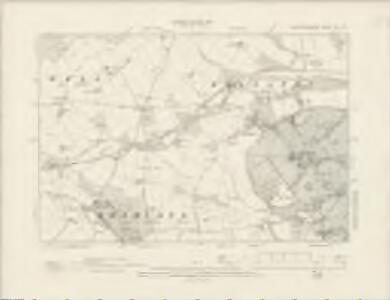 Nottinghamshire XLI.NE - OS Six-Inch Map