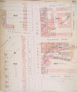 Insurance Plan of London North North West District Vol. D: sheet 32