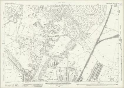 Essex (New Series 1913-) n LXIX.14 (includes: Buckhurst Hill; Woodford) - 25 Inch Map