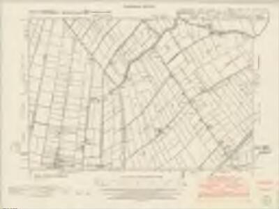Lincolnshire CXIX.NE & CXIXA.NW - OS Six-Inch Map