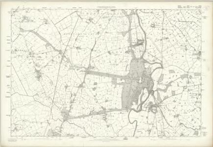 Cheshire XLV - OS Six-Inch Map