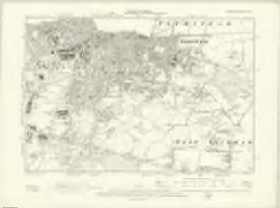 London XII.NE - OS Six-Inch Map