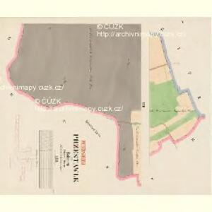 Przestawlk - c6214-1-004 - Kaiserpflichtexemplar der Landkarten des stabilen Katasters