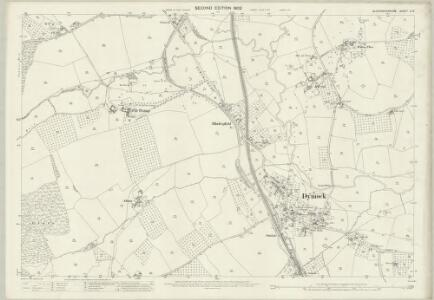 Gloucestershire X.13 (includes: Dymock) - 25 Inch Map