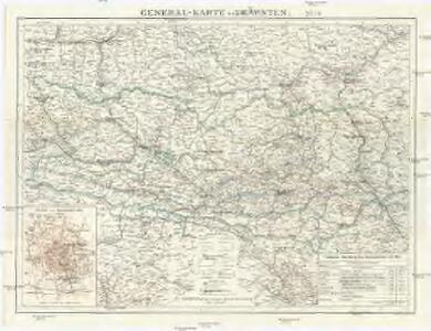 General-Karte von Kärnten