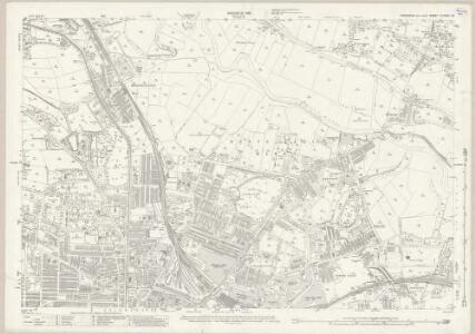 Yorkshire CLXXXV.16 (includes: Keighley) - 25 Inch Map