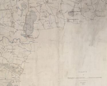 Detail from OSD,334 (Sudbury Park), showing Sudbury Hall