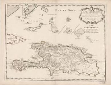 Carte de l'isle de Saint Domingue : dressée en 1722 pour l'usage du Roy sur les mémoires de Mr. Frezier, Ingenieur de S.M. et autres
