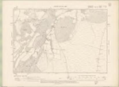 Elginshire Sheet XX.SW - OS 6 Inch map