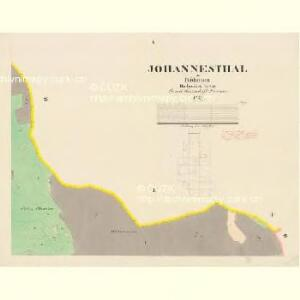 Johannesthal - c2767-1-004 - Kaiserpflichtexemplar der Landkarten des stabilen Katasters