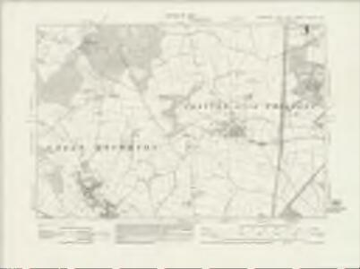 Yorkshire CCLXXV.NE - OS Six-Inch Map