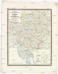 Karte von Inner-Österreich, das ist des Königreiches Illirien und des Herzogthumes Steiermark