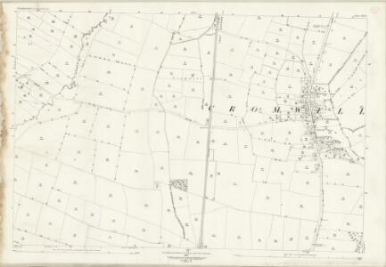Nottinghamshire XXV.15 (includes: Bathley; Cromwell; North Muskham; Norwell) - 25 Inch Map