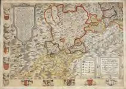 Inclitae Bernatum urbis, cum omni ditionis suae agro et provinciis delineatio chorographica, 13/14