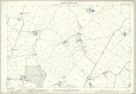 Essex (1st Ed/Rev 1862-96) XXXII.4 (includes: Great Canfield; Great Dunmow; Little Canfield) - 25 Inch Map