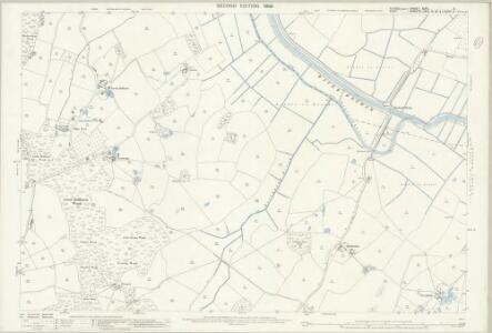 Sussex XXXII.9 (includes: Beckley; Peasmarsh; Wittersham) - 25 Inch Map