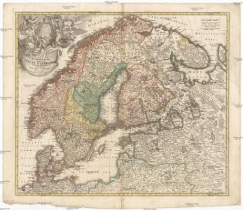 Scandinavia complectens Sueciae, Daniae & Norvegiae regna
