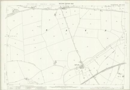 Gloucestershire XXVIII.6 (includes: Guiting Power; Hawling; Naunton) - 25 Inch Map