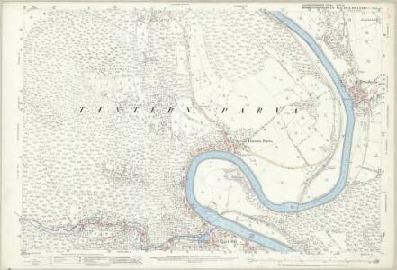 Gloucestershire XLVI.10 (includes: Hewelsfield; St Briavels; Tidenham; Tintern; Trelech United) - 25 Inch Map