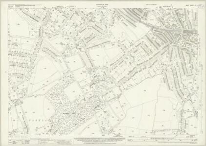 Kent XV.4 (includes: Beckenham; Bromley) - 25 Inch Map
