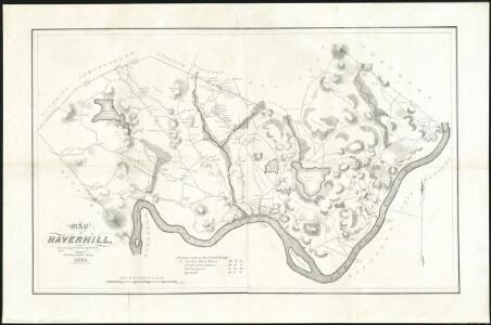 Map of Haverhill, Massachusetts