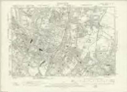 London XV.NE - OS Six-Inch Map